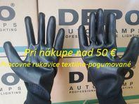 Pracovné rukavice textilno pogumované