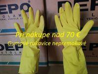 Pracovné rukavice gumové