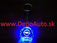 Prívesok Opel / LED svietiaci