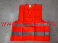 Reflexná vesta- oranžová