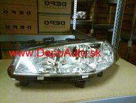 Renault Megane 11/02-12/05 svetlo H1+H7 Lavé / TYC /