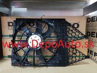 VW POLO 06/09- ventilátor chladiča / OE: 6Q0959455AD