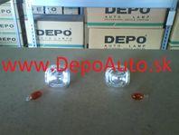 Škoda Octavia 9/00- bočné smerovky číre Sada L+P