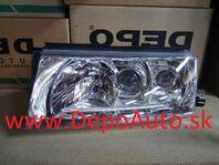 Škoda Octavia 9/00- svetlo xenon D2R+H1+H3 Lavé