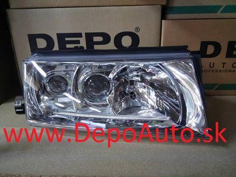 Škoda Octavia 9/00- svetlo xenon D2R+H1+H3 Pravé