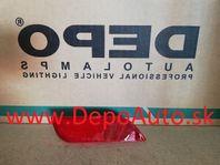 Subaru IMPREZA 12/07-2012 odrazka v zadnom nárazníku Pravá / PRE HB /