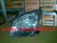 Suzuki IGNIS 03- svetlo H4 Lavé / TYC /