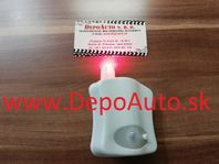 Svietiace LED svetlo na WC so senzorom pohybu