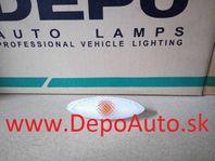 Toyota YARIS 4/99-1/06 bočná smerovka biela Lavá