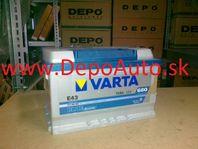 VARTA BLUE dynamic 12V 72Ah-680A