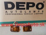 Volvo S40, V40 2/96-12/03 bočné smerovky oranžové Sada L+P