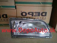 Volvo S40, V40 2/96-7/98 svetlo H4 Pravé / DJ AUTO /