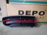 VW Bora 9/98- mriežka v prednom nárazníku Pravá