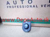 VW PASSAT 00-05 ovládač spätných zrkadiel / vyhrievanie+sklápanie