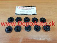 VW CADDY 10/95-2/04 plastová matica podblatníkov 10 ks
