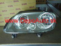 VW CADDY 3/04- svetlo H1+H7 Lavé / TYC /