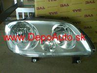 VW CADDY 3/04- svetlo H1+H7 Pravé / TYC /