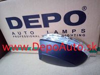 VW EOS 03/2006- smerovka v zrkadle Lavá / LED / od r.v.2008
