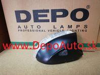 VW EOS 03/2006- smerovka v zrkadle Pravá / LED / od r.v.2008 / s podsvietením /