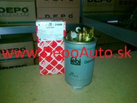 VW GOLF III 9/91-4/99 palivový filter 1,9TDi-1,9SDi / FEBI