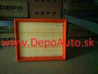 VW GOLF III 9/91-4/99 vzduchový filter 1,4i-1,6i-1,9TDi-1,9SDi /