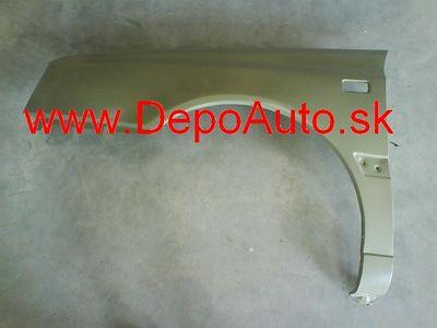VW Golf III 9/91-95 blatník Lavý,obdlžnikový otvor