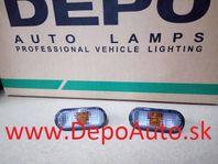 VW Golf IV 97-03 bočné smerovky dymové Sada L+P
