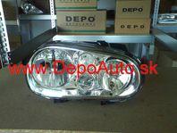 VW Golf IV 97-03 svetlo H1+H3+H7 Pravé / DJ AUTO /
