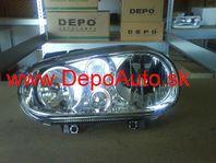 VW Golf IV 97-03 svetlo H1+H7 Lavé / DJ AUTO /
