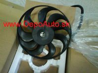 VW Golf IV 97-03 ventilátor chladiča 290mm 220/60W