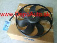 VW Golf IV 97-03 ventilátor chladiča 345mm 250/60W