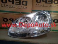 VW Golf V 8/03- svetlo H7+H7 Lavé,strieborné / DJ AUTO /