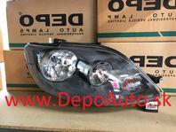 VW GOLF V Plus 01/05- predné svetlo H7+H7,Pravé / TYC /