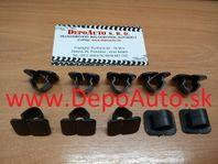 VW GOLF V Plus 01/05- spony uchytenia kapoty 10ks