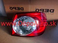 VW GOLF V Plus 01/05- zadné svetlo Pravé,vonkajšie