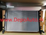 VW GOLF VI 10/08- chladič vody / 1,2TSi / 627x395x20