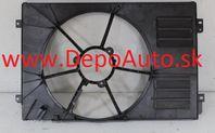 VW GOLF VI 10/08- kryt ventilátora /Originál