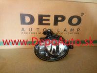 VW JETTA 4/2010- hmlovka HB4 Pravá/s funkciou dosvetlenia zákrut