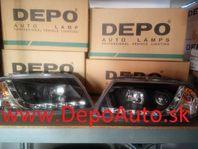 VW Passat B6 00-05 predné svetlá H1+H1 Tuning,Devil Eyes