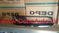 """VW PASSAT """"B7"""" 11/10- krytka predného nárazníka Lavá/2x chrom"""