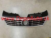 "VW PASSAT ""CC"" 2012- predná mriežka čierna / chróm"