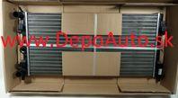 VW POLO 06/09- chladič vody /1,2TSi-1,2TDi-1,6TDi /