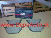 VW POLO 06/09- predné platničky Sada /SRL / 146mm