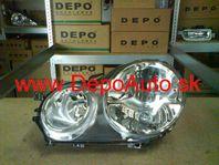 VW Polo 1/02-5/05 svetlo H1+H7 Lavé / TYC /