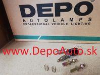 VW POLO 10/94-9/99 2x zámok dverí + 2 x klúč + 4x strmeň