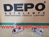 VW Polo 10/94-9/99 bočné smerovky číre Sada L+P