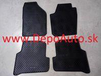 VW POLO 2014- gumové koberce čierne 4ks
