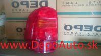VW Sharan 5/00-11/03 zadné svetlo Lavé,vonkajšie / HELLA /