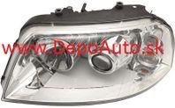 VW Sharan 5/00- predné svetlo xenon D2S+H7 Lavé