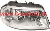 VW Sharan 5/00- predné svetlo xenon D2S+H7 Pravé